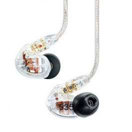 Shure SE535 Clear, 3-Treiber In-Ear Ohrhörer