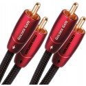 Audioquest Golden Gate Cinch - Cinch Kabel, Audiokabel 2x Cinch / RCA (M/M) 0.6m bis 8.0m