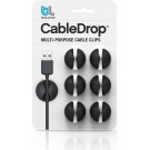 Bluelounge CableDrop, multifunktionale Kabel-Clips
