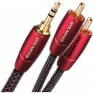 Audioquest Golden Gate Cinch - 3.5mm Kabel, Audiokabel Cinch / RCA auf 3.5mm (M/M) 0.6m bis 8.0m